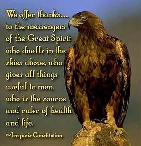 ~Iroquois Const... Iroquois Constitution Quotes