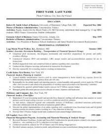 banking associate resume resume sle finance investment banking