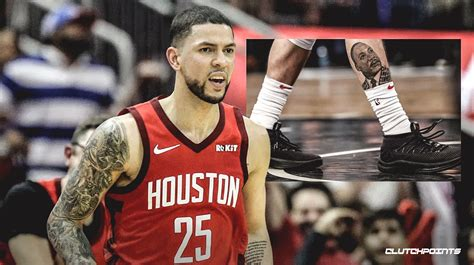 Austin rivers signed a 1 year / $270,142 contract with the denver nuggets, including $270,142 guaranteed, and an annual average salary of $270,142. Rockets news: Austin Rivers details meaning behind MLK tattoo