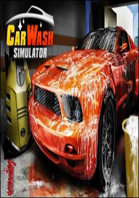 car wash simulator   full version pc setup