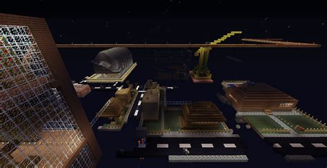 Карта Город проклятого паркура для Minecraft 145 скачать