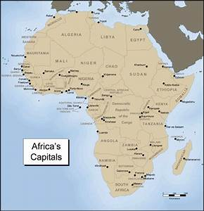 WH1: Africa Map Resources