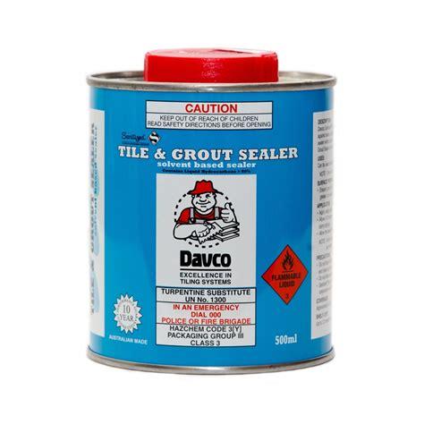 davco 500ml sanitized 174 tile grout sealer i n 6654374
