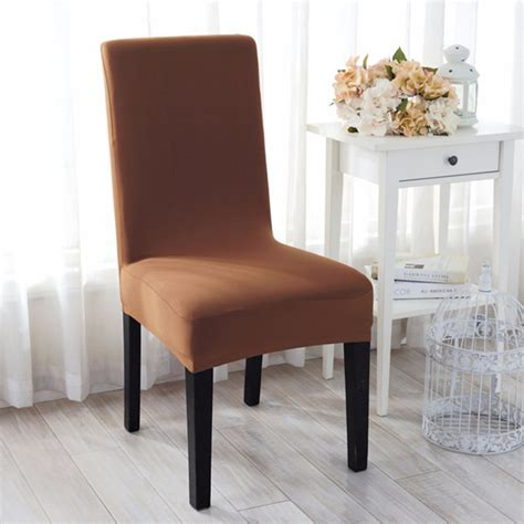 jacquard fabric solid color stretch chair seat