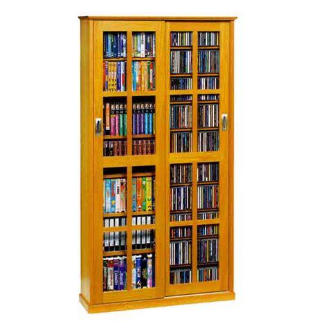 leslie dame multimedia storage cabinet oak ms