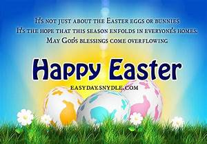 Easter Greetings, Messages and Religious Easter Wishes ...