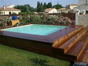 revgercom piscine hors sol semi enterree permis de With construction piscine hors sol en beton 5 piscine enterree hors sol hors sol bois quel type de