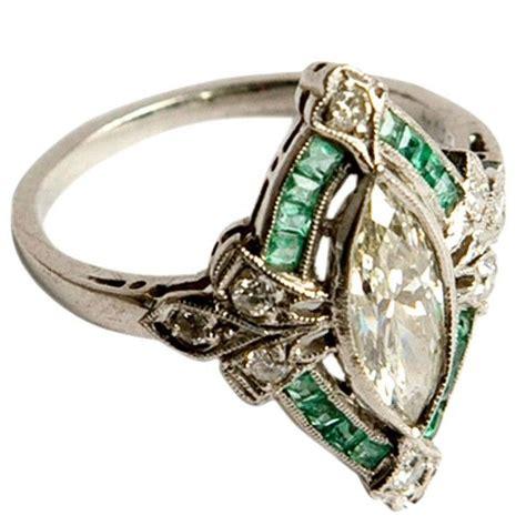 a vintage engagement ring i d prefer it with garnets