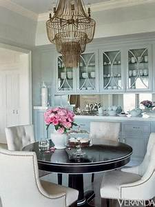 colors light blue espresso white gold and coral With kitchen colors with white cabinets with art deco round wall mirror