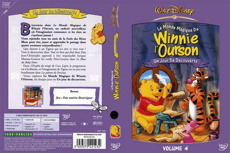 jaquette dvd de winnie l ourson le monde magique de winnie l ourson vol 4 cin 233 ma