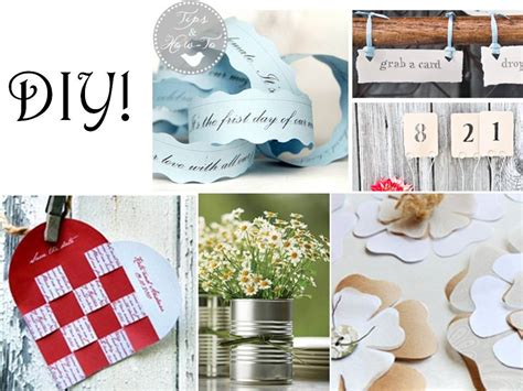 10 simple things to diy for your wedding onewed com