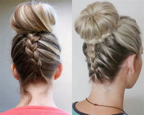 The Gallery For --> Everyday Hairstyles With Braids Updo Hairstyles For Medium Length Hair School Short Naturally Curly Pinterest Prom African American Fine Long Face Square Faces Thick Round The Best Hairstyle Thin