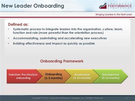 onboarding template new leader onboarding best practices