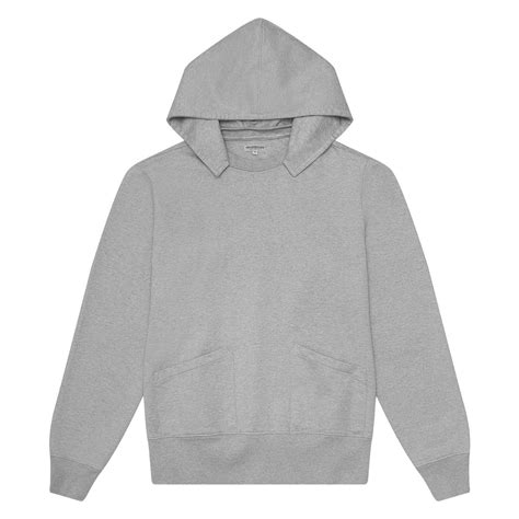 Gym Hoody H.Grey — Brooklyn Clothing