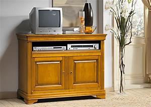 Meuble Tv Hifi : acheter votre meuble tv hifi tirette chez simeuble ~ Teatrodelosmanantiales.com Idées de Décoration