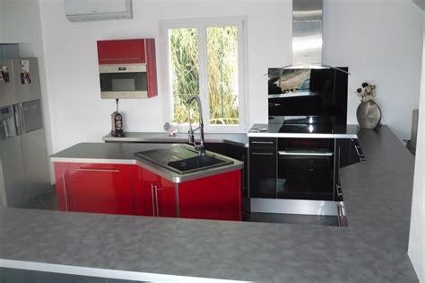 meuble de cuisine angle cuisine et gris flanelle