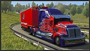 Euro Truck Simulator 2 ★ - Optimus Prime - Transformers 4 ...