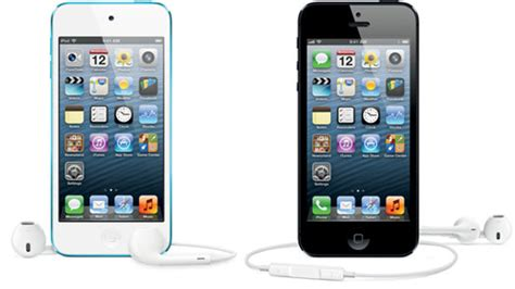 iphone touch differences between iphone 5 and ipod touch 5th