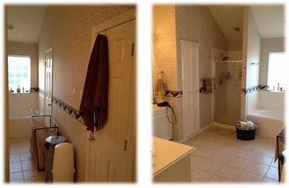 Master Bath Bathroom Before