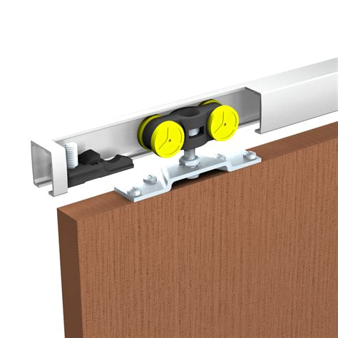 rail pour porte coulissante suspendue dimension porte coulissante patcha