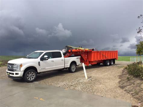 towing capacity  dump trailer mini