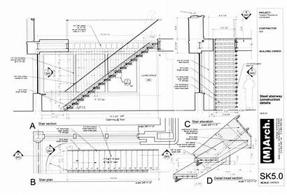 Stairs Steel Stair Staircase Interior Stringer Double