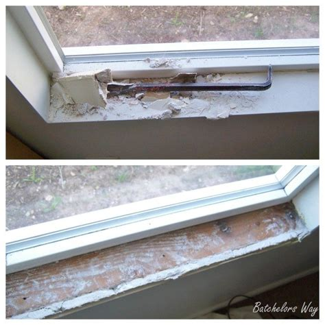 Replacing An Interior Window Sill by How To Install A Window Sill And Trim Sawdust 174