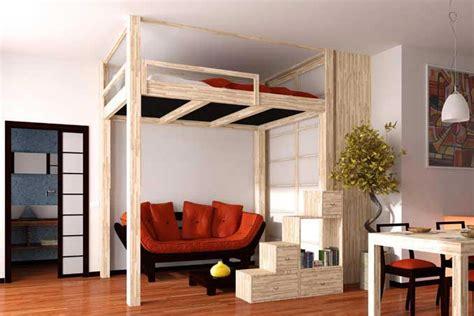 bureau pour lit mezzanine cinius ameublements en style japonais pour un style