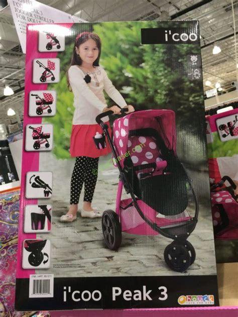 icoo peak  jogger stroller  dolls costcochaser