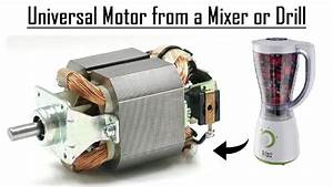 Universal Motor From A Mixer Diy