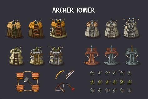 Tower Defense 2d Game Kit