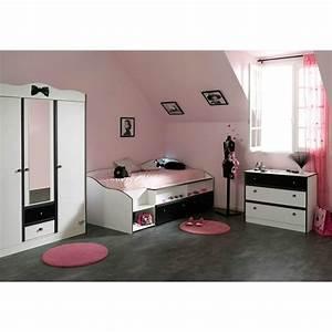 Lit Enfant Combiné : lit enfant combin 90x190cm cambridge blanc ~ Farleysfitness.com Idées de Décoration