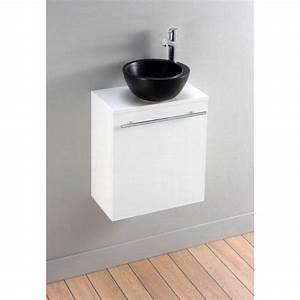 Meuble Vasque Pas Cher : meuble vasque wc pas cher ~ Teatrodelosmanantiales.com Idées de Décoration