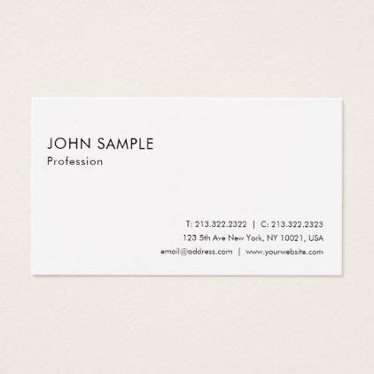 smart plain elegant white professional modern business