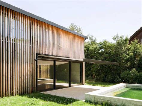 model desain rumah bambu unik minimalis dinerbacklot