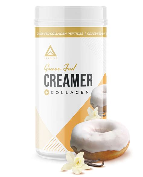 All the creamy goodness, without all the carbs. LevelUp® Grass-Fed Keto Coffee Creamer Vanilla Sweet Cream 198g - Hong Kong Ketogenic Diet Ltd ...