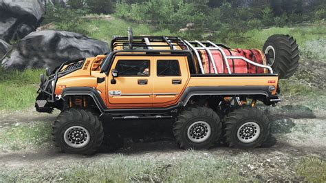Humm3r 16 hummer h2 6x6 03 03 16 for spin tires