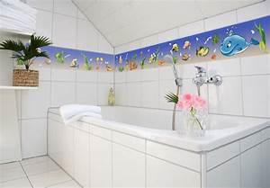 Selbstklebende Bordüre Fürs Bad : bord re f r kinder und bad unterwasserwelt wall ~ Watch28wear.com Haus und Dekorationen
