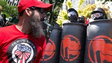 paypal cuts  proud boys gavin mcinnes antifa groups