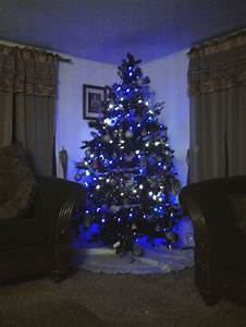 Blue And White Christmas Lights | HomesFeed