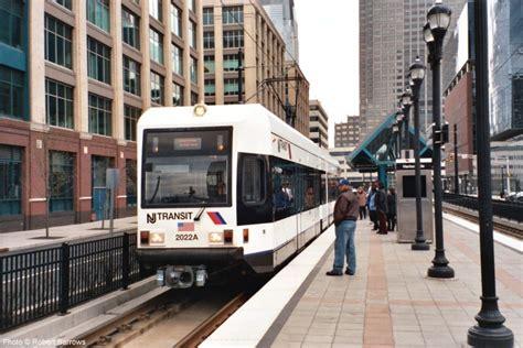 jersey city light rail urbanrail net gt america gt usa gt new jersey gt newark