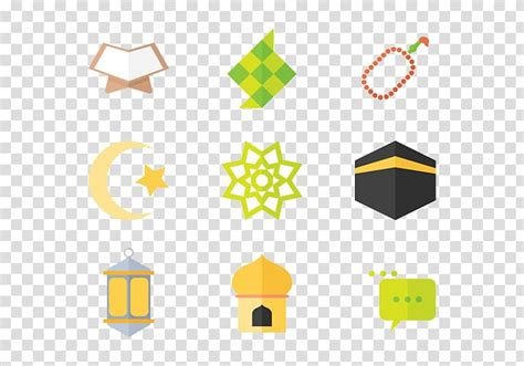 assorted emoji illustrations ketupat eid al fitr ramadan