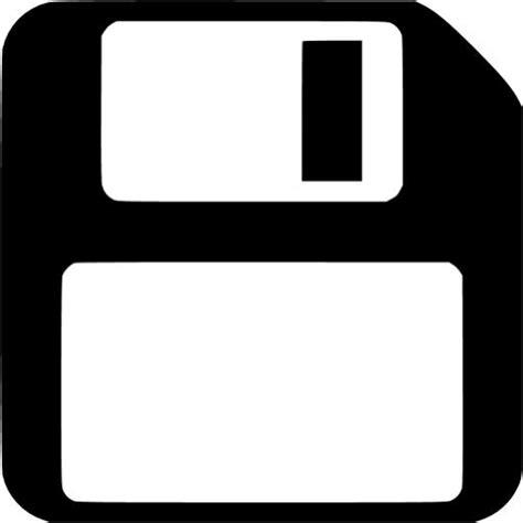 Black save icon - Free black save icons