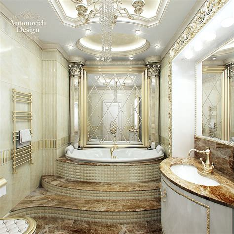 luxury master bathroom designs antonovich design luxury looks royal and luxury this