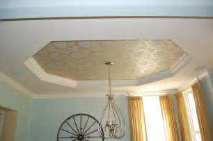 Two Piece Ceiling Medallions by Painting A Tray Ceiling A Decorator S Journey