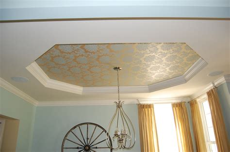 Creative Solutions For Tray Ceilings A Decorators Journey