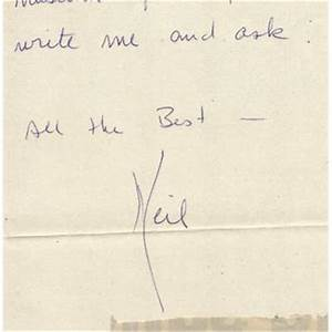 """Neil Armstrong Autograph Letter Signed """"Neil"""""""