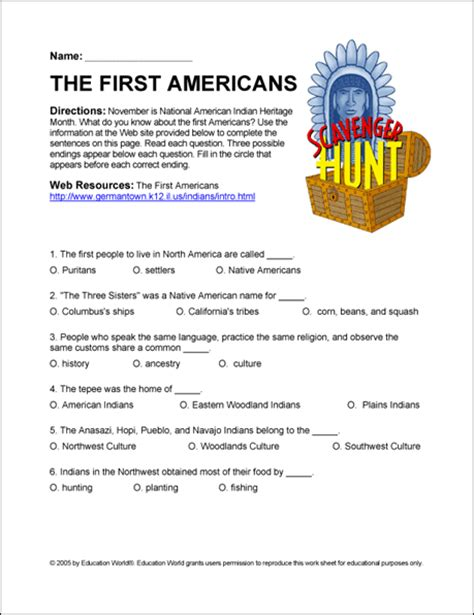All Worksheets » Native American Worksheets  Printable Worksheets Guide For Children And Parents