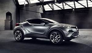 Toyota C Hr 2016 : the toyota c hr concept is a sharp looking crossover literally ~ Medecine-chirurgie-esthetiques.com Avis de Voitures