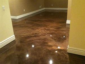 epoxy basement floor paint ideas http wwwkoniwaves With how to finish a concrete basement floor